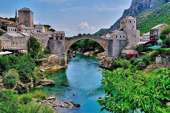 Excursão privada Mostar e Počitelj de...