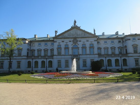 View of the palace
