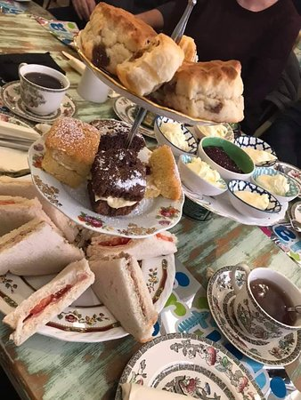 Afternoon Teas £8.95 per person. Booking essential.