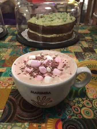 Marimba Hot Chocolate £3.00