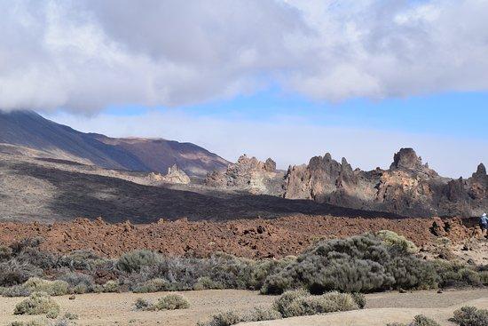 National park - like a moon scape.