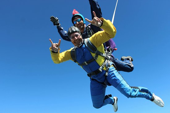 Skydive with Chris