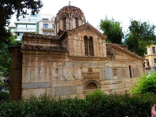 Plaka: Antica chiesetta del XII secolo