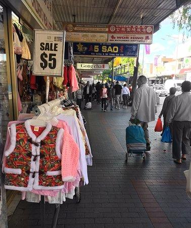 Shopping day in Cabramatta