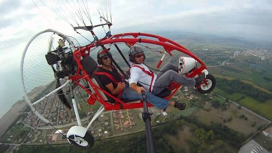 Camli, تركيا: Marmaris_air _sports Motorlu parasut/paratrike