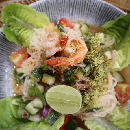Restaurant Kalimansi, Batubulan, salad