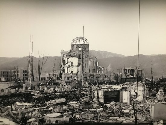 Genbaku Dome after the 9th of August.