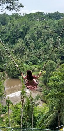 The biggest swing in Bali