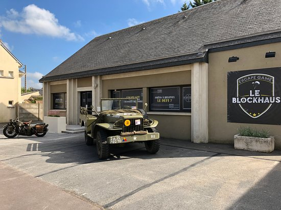 LE BLOCKHAUS Escape Game