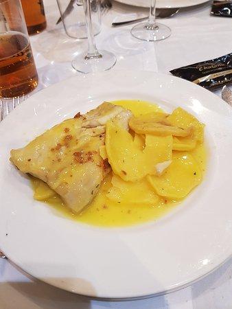spigola con patate