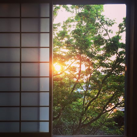 A wonderful ryokan in a genuinely rural place