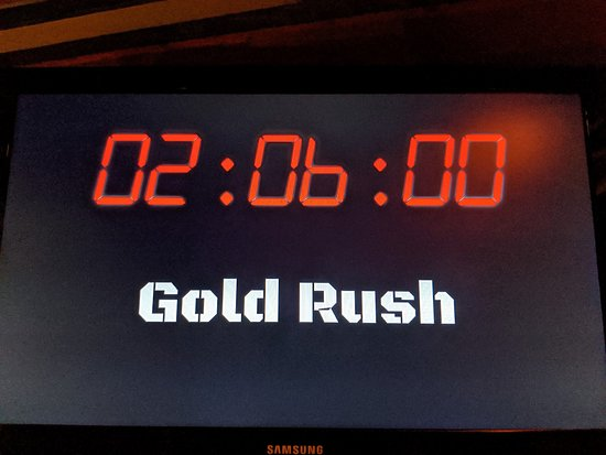 Gold Rush Escape Game Room: Our time when we escaped Gold Rush!