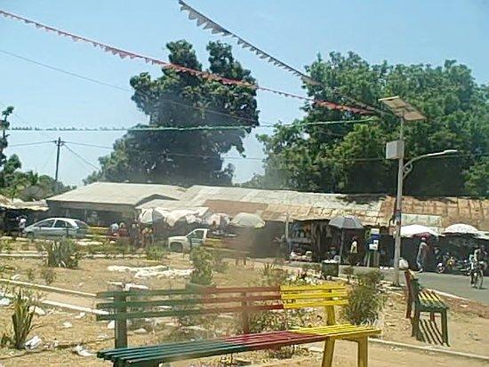 Town of Bula in Guinea-Bissau