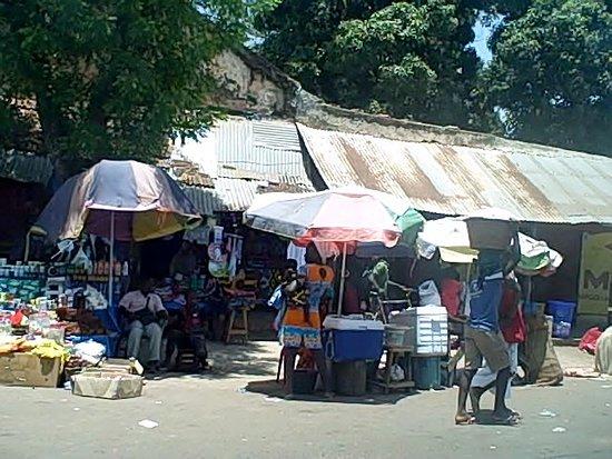 Market in Bula Guinea-Bissau