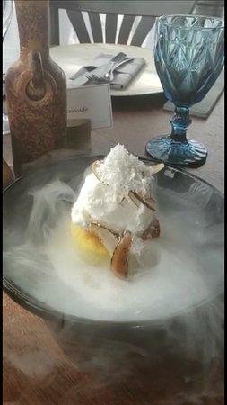 Sobremesa: texturas de coco