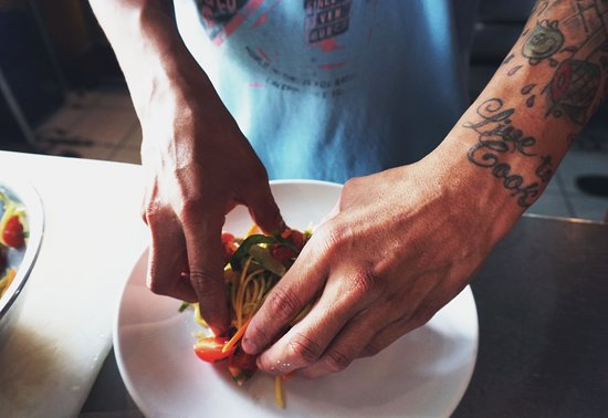 Creative and passionate hands are behind our cuisine.