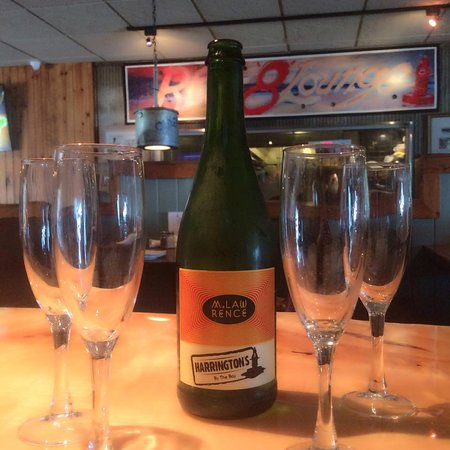 Our own special bubbly created by local winery