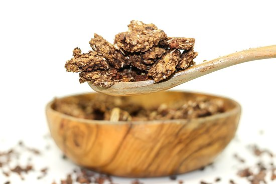 Fit & Gourmande: Granola chocolat - vegan & sans gluten