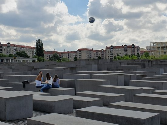 The Holocaust Memorial - Memorial to the Murdered Jews of Europe – fénykép