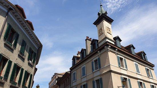 Le Maître Jaques: Vieille Ville de Nyon, Suisse