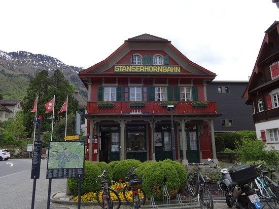 Skip the Line: CabriO Mt Stanserhorn Railway Ticket: Stanserhorn funicular base station
