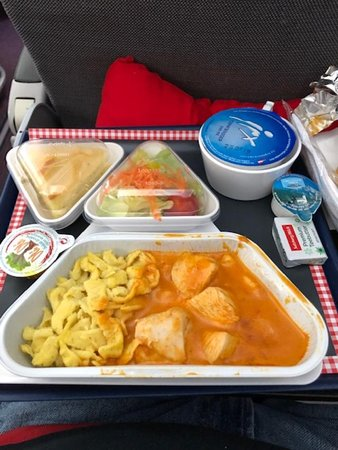 Austrian Airlines: Lunch