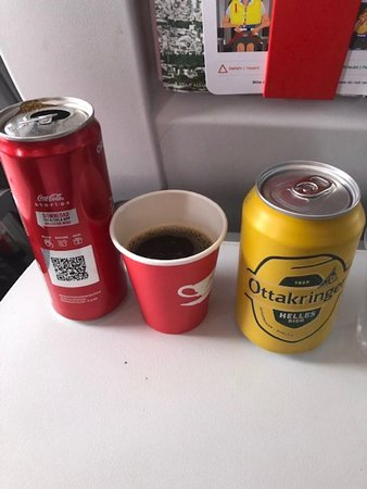 Austrian Airlines: drinks
