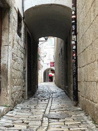 Wunderschöne alte Stadt