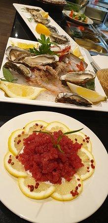 L'ostricaio Mellieha: tartara tonno e crudité