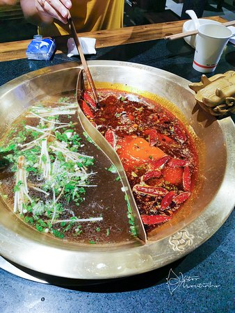 Spicy and sour HOT POT