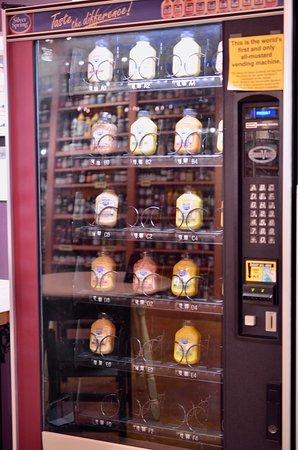 National Mustard Museum: Mustard Vending machine