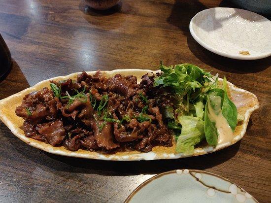Sakura Inn: Beef Tongue