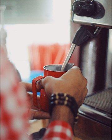 Fokino, รัสเซีย: Coffee Machine - кофейня для автомобилистов