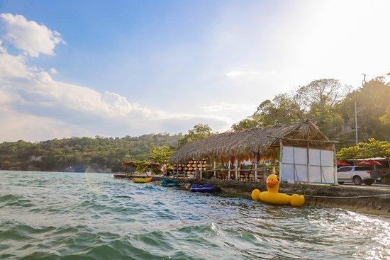 San Jose, Guatemala: Restaurante Las Flores