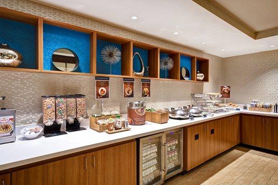 SpringHill Suites Baltimore BWI Airport: Restaurant