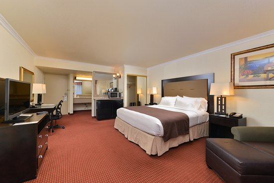 Holiday Inn Sacramento Rancho Cordova: Guest room