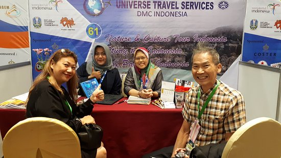 Universe Travel Services join travel fair