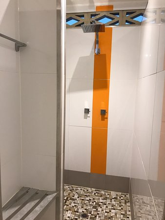 Wow!! These amenities are Fantastic!!! Huge Shower Rose.