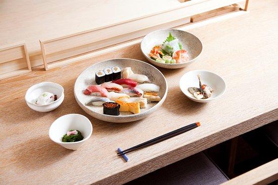 The Sushi: Omakase
