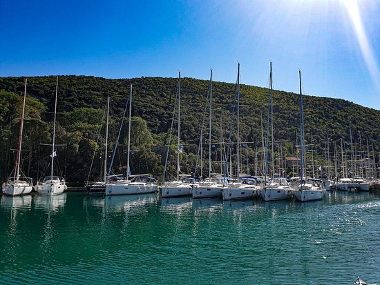 Navigare Yachting: Navigare yachts in the marina