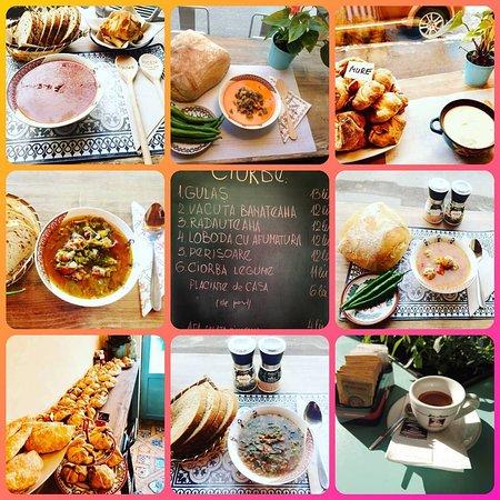 😀 Astăzi la #KiCEN #Cotroceni va așteptăm cu aceste delicioase 🍜 #CiorbeDeCasa 🍘 #PlacinteDeCasa #FaraZahar ☕ #CAFEA by #1euro2go #Brasilrecca #KiCENCotroceni #Bucuresti