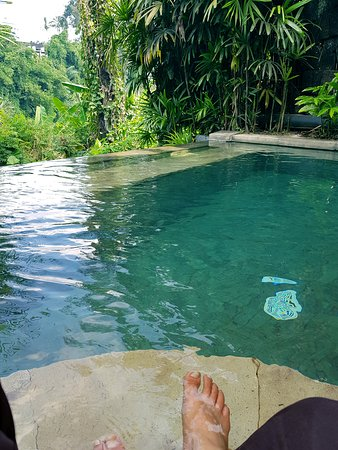 Novus Giri Resort & Spa: The private heated pool at the Pool Suite is a must for couples, but not for small children.