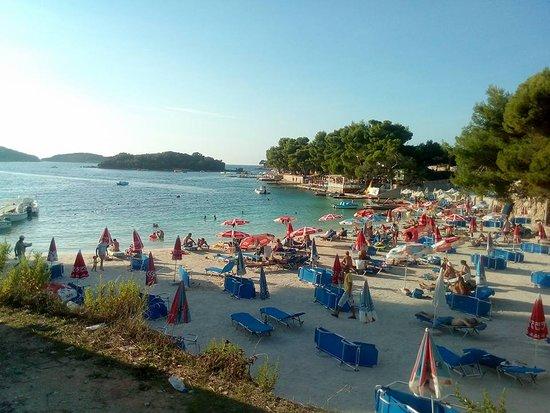 Ksamil, Albania: Bora Bora beach