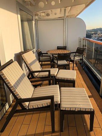 Eurodam: Room 7069, Balcony