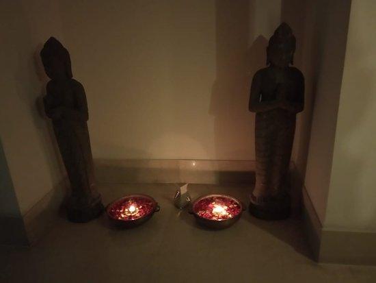 Visakhapatnam, India: Interior at spa