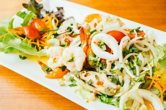 The Crab House restaurant: Seafood Salad