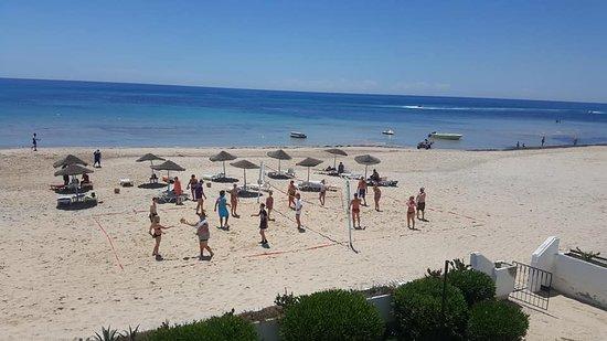 Hotel Hammamet Beach: Beach Volley
