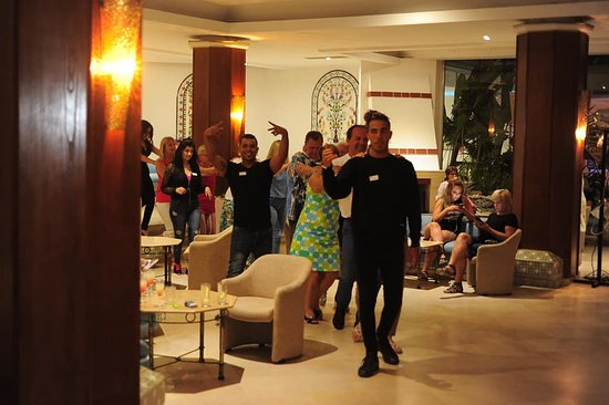 Hotel Hammamet Beach: Dance du club