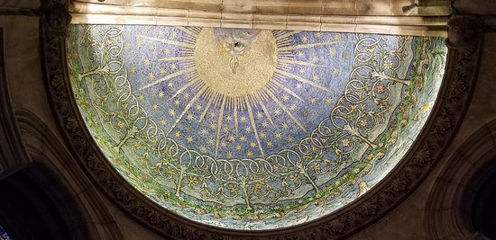 Mosaic Dome in the Baptistery
