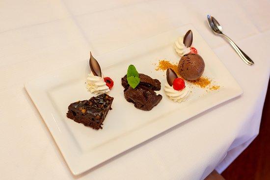 Hengevelde, Hollanda: dessert